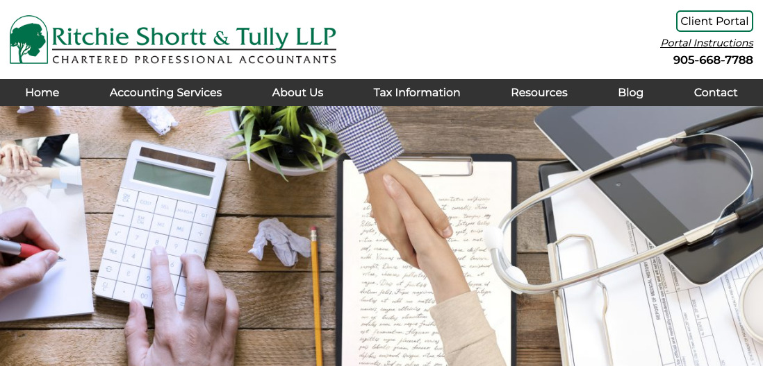 https://rstaccountants.ca/ website thumbnail
