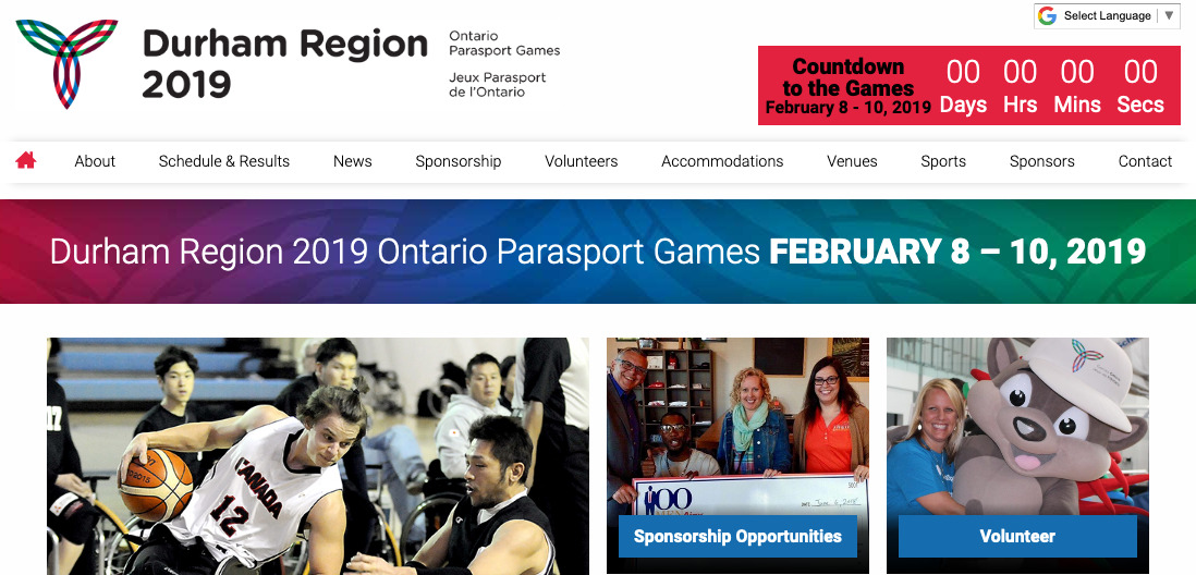 Thumbnail of DurhamRegion2019.ca website